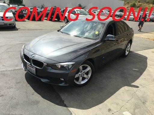 2014 BMW 3 SERIES 320I 4DR SEDAN gray 2-stage unlocking doors abs - 4-wheel active head restrai