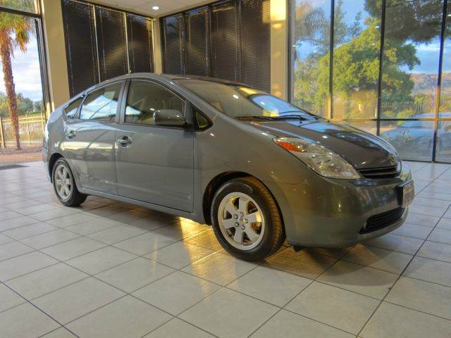 2005 TOYOTA PRIUS BASE 4DR HATCHBACK gray abs - 4-wheel center console - front console with stor