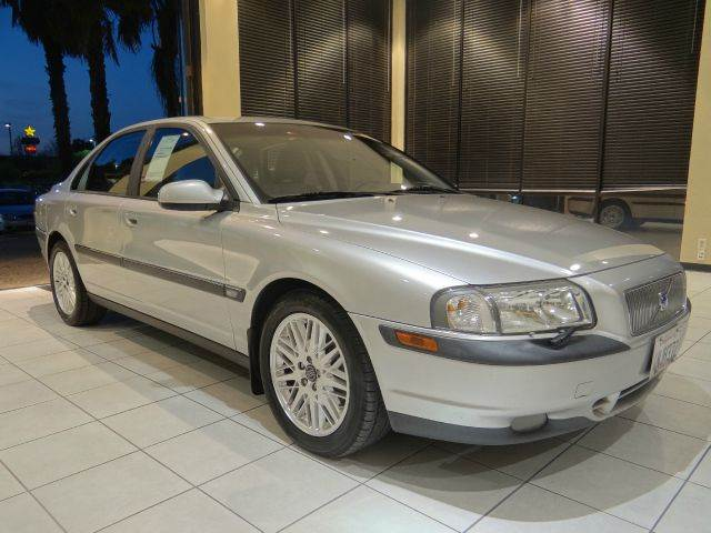 2001 VOLVO S80 T6 4DR SEDAN silver abs - 4-wheel anti-theft system - alarm cassette center con