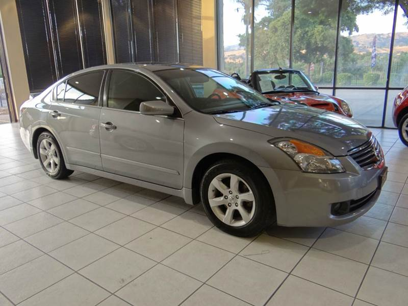 2008 NISSAN ALTIMA 25 SL 4DR SEDAN gray 2-stage unlocking abs - 4-wheel active head restraints