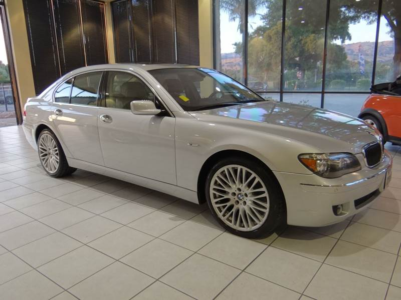 2007 BMW 7 SERIES 750I 4DR SEDAN silver 2-stage unlocking - remote abs - 4-wheel air filtration