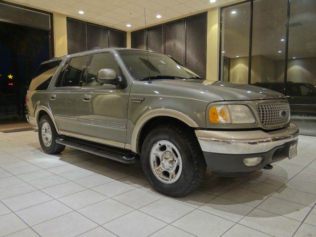 1999 FORD EXPEDITION EDDIE BAUER 4DR 4WD SUV silver abs - 4-wheel bumper color - chrome captain