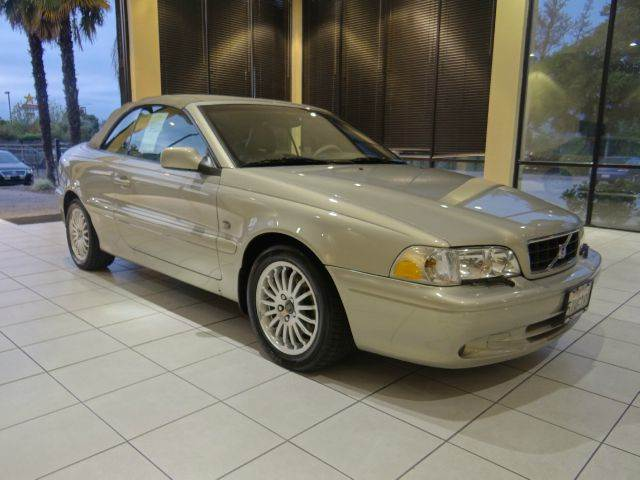 2003 VOLVO C70 HT 2DR CONVERTIBLE gold abs - 4-wheel anti-theft system - alarm cd changer cent