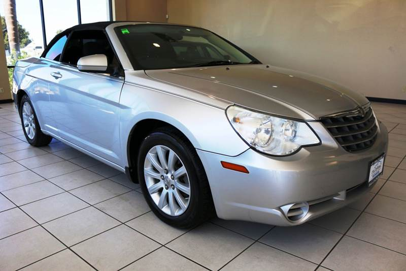 2010 CHRYSLER SEBRING TOURING 2DR CONVERTIBLE gray 2-stage unlocking doors abs - 4-wheel active