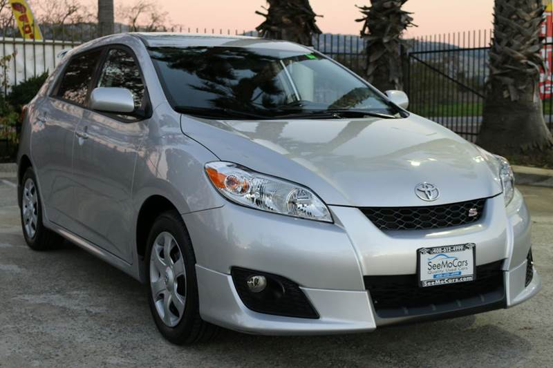2010 TOYOTA MATRIX S 4DR WAGON 5A silver abs - 4-wheel air filtration airbag deactivation - occ