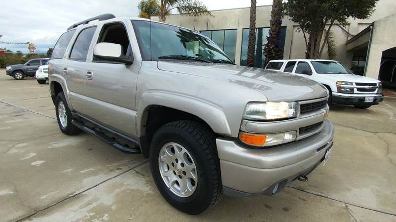 2004 CHEVROLET TAHOE Z71 4WD 4DR SUV unspecified affordable 2004 chevrolet tahoe z71 package 4x4
