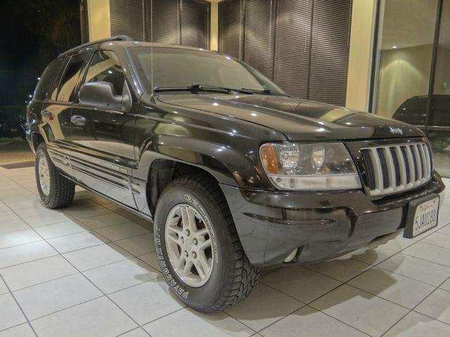 2004 JEEP GRAND CHEROKEE COLUMBIA EDITION 4DR SUV black abs - 4-wheel anti-theft system - alarm