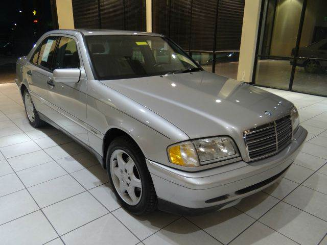 2000 MERCEDES-BENZ C-CLASS C230 SUPERCHARGED 4DR SEDAN silver abs - 4-wheel anti-theft system -