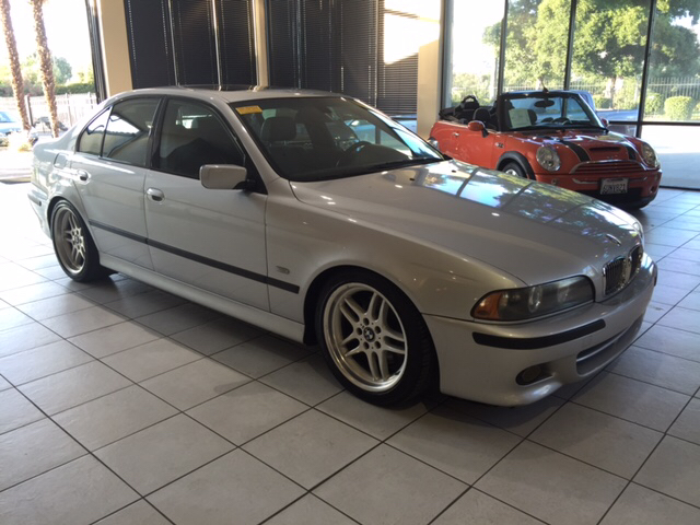2003 BMW 5 SERIES 540I 4DR SEDAN silver abs - 4-wheel anti-theft system - alarm center console