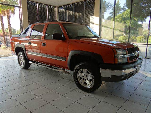 2004 CHEVROLET AVALANCHE 1500 4DR CREW CAB 4WD orange abs - 4-wheel anti-theft system - alarm a