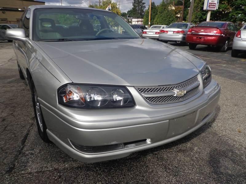 2005 chevrolet impala ss supercharged 4dr sedan in cleveland oh richland motors. Black Bedroom Furniture Sets. Home Design Ideas