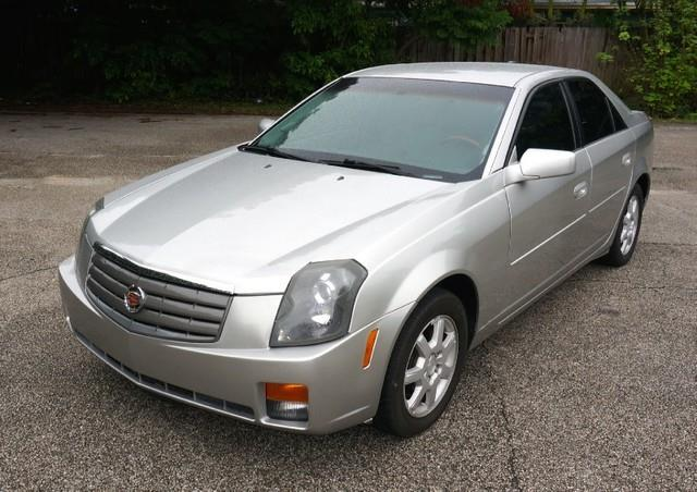 2006 CADILLAC CTS PREMIUM PACKAGE LEATHER INTERIO silver smoke imperial capital cars is hollywood