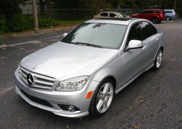 2009 MERCEDES-BENZ C-CLASS C300 SPORT 4DR SEDAN silver call 888-503-0114 for sales  imperia