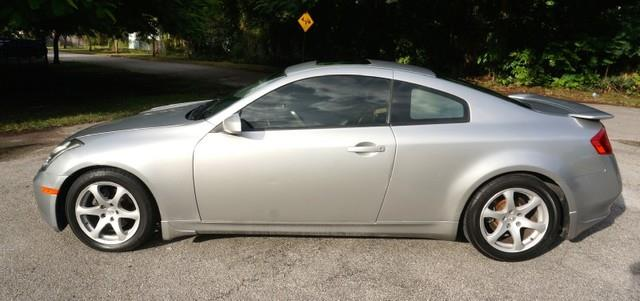 2004 INFINITI G35 BASE RWD 2DR COUPE WLEATHER brilliant silver metallic imperial capital cars is