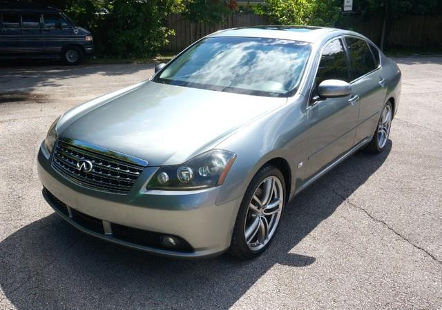 2006 INFINITI M35 REAR TVS PREMIUM PACKAGE umbria grey metallic imperial capital cars is hollywo