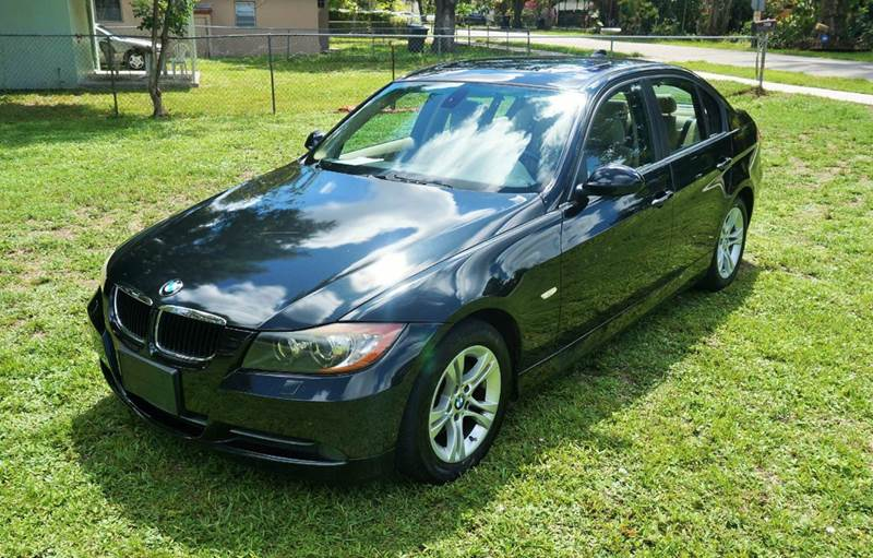 2008 BMW 3 SERIES 328XI AWD 4DR SEDAN SULEV black call 888-503-0114 for sales imperial capital