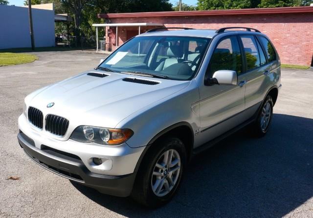 2006 BMW X5 30I AWD 4DR SUV titanium silver metallic imperial capital cars is hollywood floridas