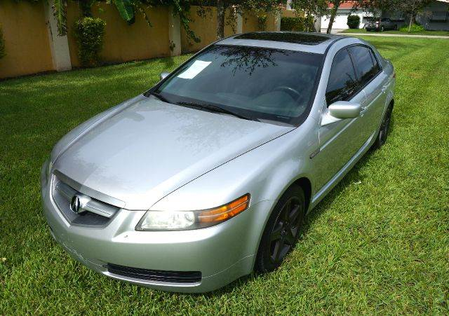2006 ACURA TL LUXURY 4DR SEDAN silver this vehicle is well equiped and passed a 120 point inspect