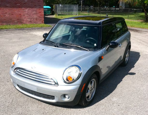 2008 MINI COOPER CLUBMAN BASE 3DR WAGON silver 2-stage unlocking abs - 4-wheel air filtration