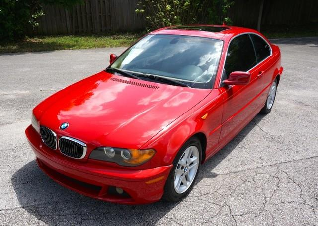 2004 BMW 3 SERIES 325CI 2DR COUPE electric red imperial capital cars is hollywood floridas 1 use