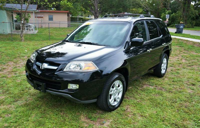 2006 ACURA MDX TOURING WNAVI WRES AWD 4DR SUV black call 1-754-210-3703 for sales this veh