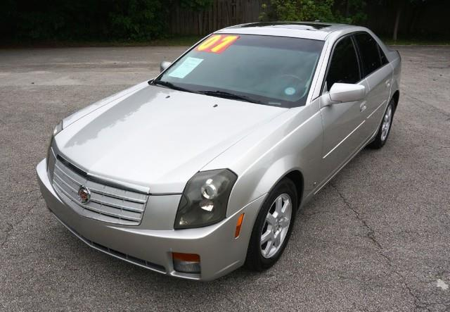 2007 CADILLAC CTS PREMIUM LEATHER  LOADED light platinum imperial capital cars is hollywood flor