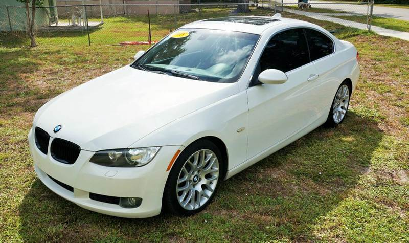 2008 BMW 3 SERIES SPORT 328I 2DR COUPE white call 888-503-0114 for sales imperial capital cars