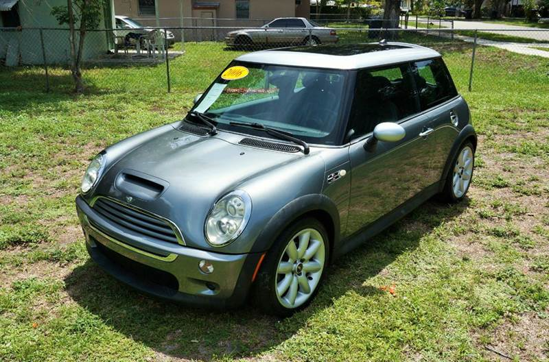 2006 MINI COOPER S 2DR HATCHBACK gray abs - 4-wheel air filtration airbag deactivation - occupa