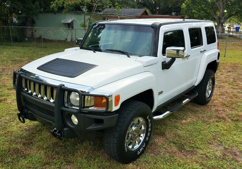 2006 HUMMER H3 ADVENTURE 4DR SUV 4WD white 4wd type - full time abs - 4-wheel airbag deactivati
