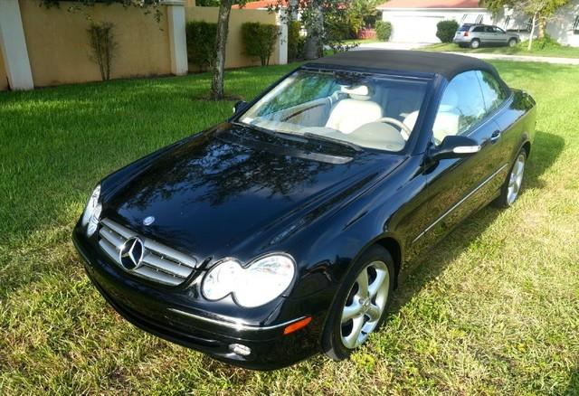2004 MERCEDES-BENZ CLK-CLASS CLK320 2DR CONVERTIBLE unspecified imperial capital cars is hollywood