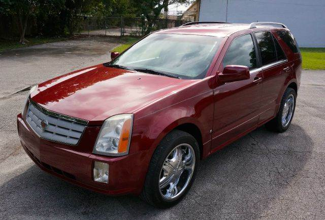2006 CADILLAC SRX BASE 4DR SUV red abs - 4-wheel antenna type anti-theft system - alarm anti-t