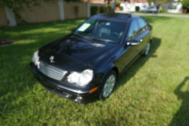 2006 MERCEDES-BENZ C-CLASS C280 LUXURY 4DR SEDAN black imperial capital cars is hollywood florida