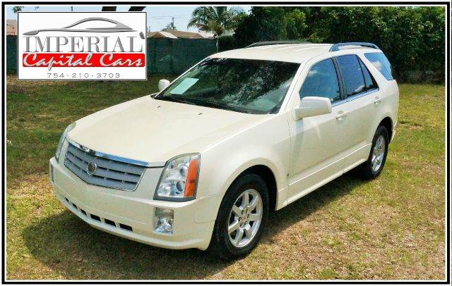 2008 CADILLAC SRX V6 AWD 4DR SUV white 2-stage unlocking - remote abs - 4-wheel airbag deactiva