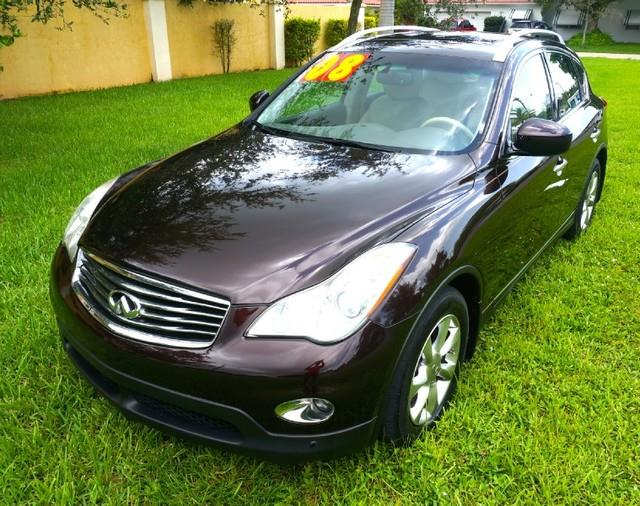 2008 INFINITI EX35 FLAWLESS LEATHER INTERIOR PREMI dark currant metallic welcome to imperial capi
