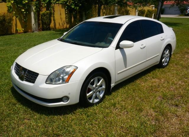 2005 NISSAN MAXIMA 35 SL LEATHER PREMIUM SOUND winter frost pearl imperial capital cars inc i