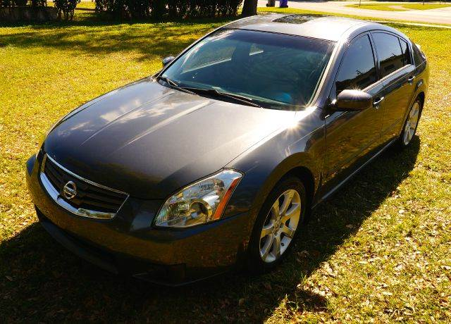 2007 NISSAN MAXIMA 35 SE 4DR SEDAN gray 2-stage unlocking - remote abs - 4-wheel air filtratio