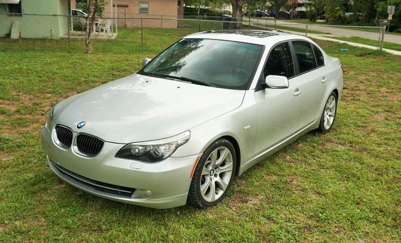 2008 BMW 5 SERIES 535I 4DR SEDAN LUXURY silver call 888-503-0114 for sales imperial capital car