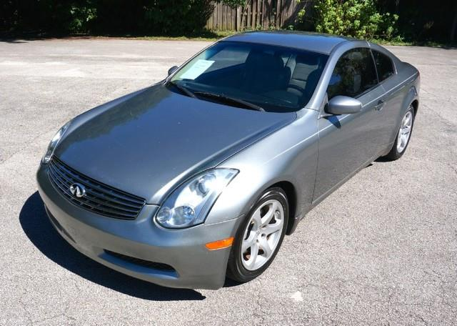 2006 INFINITI G35 BASE 2DR COUPE 35L V6 5A diamond graphite metallic imperial capital cars is