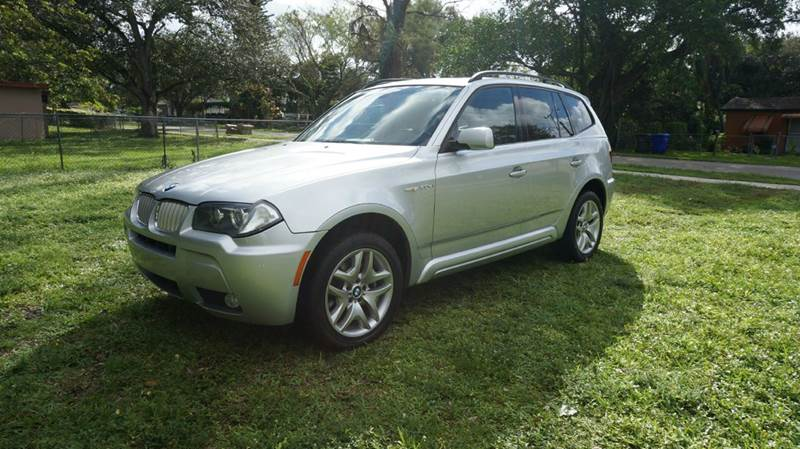 2008 BMW X3 30SI AWD 4DR SUV call 1-754-210-3703 for sales this vehicle fully loaded with su