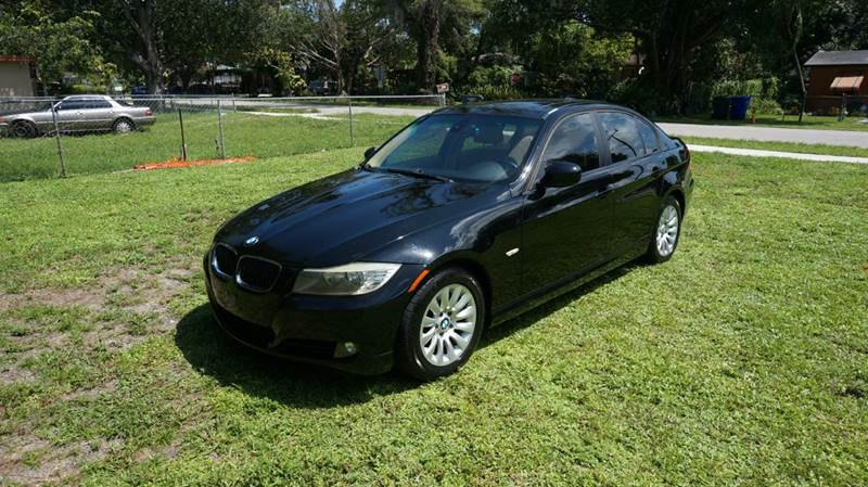 2009 BMW 3 SERIES 328I 4DR SEDAN black call 1-754-210-3703 for sales this vehicle fully loa