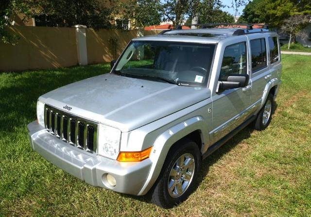 2006 JEEP COMMANDER LIMITED 4DR SUV 4WD bright silver metallic imperial capital cars inc is hono