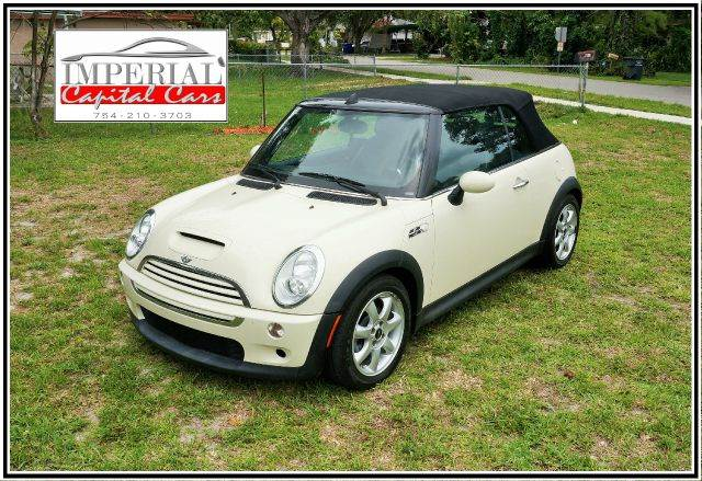 2008 MINI COOPER S CONVERTIBLE white 2-stage unlocking abs - 4-wheel air filtration airbag dea