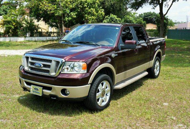 2008 FORD F-150 KING RANCH 4X4 4DR SUPERCREW STY 4wd type - part time abs - 4-wheel adjustable p