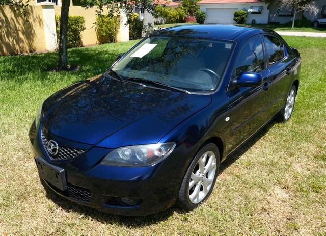 2009 MAZDA MAZDA3 I SPORT ALLOY WHEELS METALLIC stormy blue mica imperial capital cars is hollyw