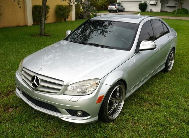 2008 MERCEDES-BENZ C-CLASS C350 SPORT 4DR SEDAN iridium silver metallic welcome to imperial capita