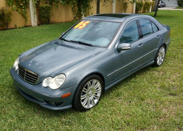2005 MERCEDES-BENZ C-CLASS C230 KOMPRESSOR 4DR SEDAN granite grey metallic thank you for visiting