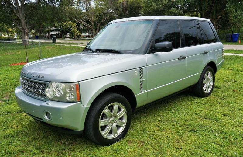 2008 LAND ROVER RANGE ROVER HSE 4X4 4DR SUV silver call 1-754-210-3703 for sales this vehicl