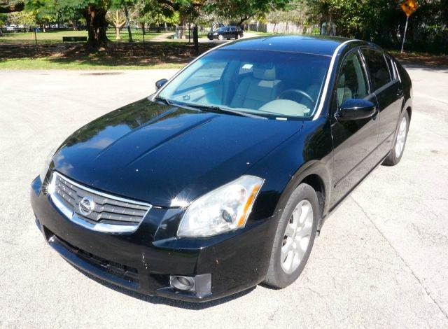 2007 NISSAN MAXIMA 35 SL 4DR SEDAN black 2-stage unlocking - remote abs - 4-wheel air filtrati