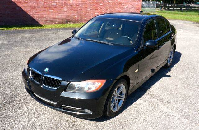 2008 BMW 3 SERIES 328I 4DR SEDAN black call 888-503-0114 for sales imperial capital cars is pro