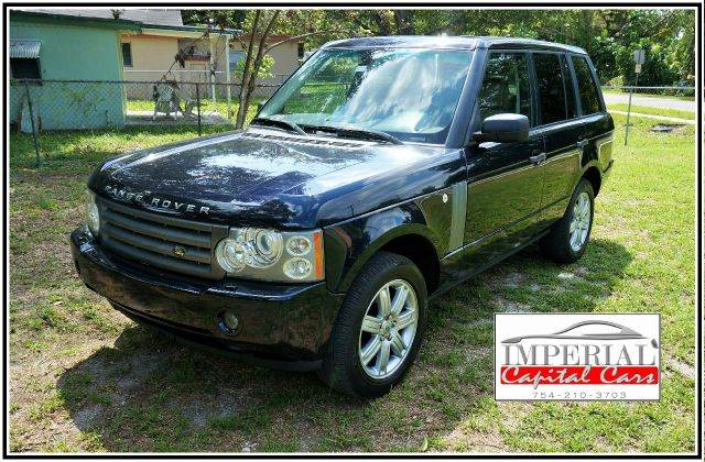 2006 LAND ROVER RANGE ROVER HSE 4DR SUV 4WD blue 4wd type - full time abs - 4-wheel active susp